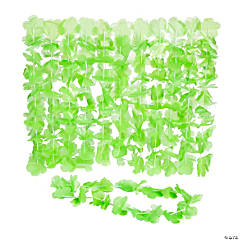 Lime Green Flower Leis