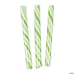 Lime Green Hard Candy Sticks