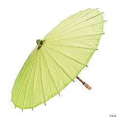 Lime Green Paper Parasol