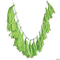Lime Green Tassel Garland