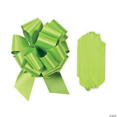 Lime Green Wedding Pull Bows