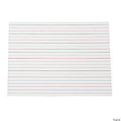 Lined Dry Erase Boards