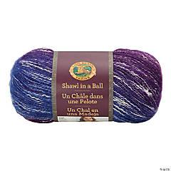 Lion Brand Shawl In A Ball Yarn-Restful Rainbow