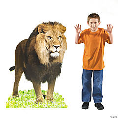 Lion Cardboard Stand-Up