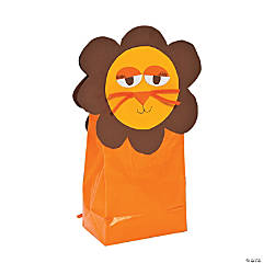 Lion Mini Treat Bag Idea