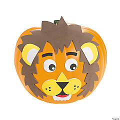 Lion Pumpkin Decorating Craft Kit