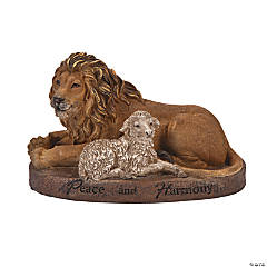 Lion with Lamb