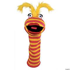 Lipstick Knitted Puppet