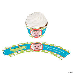 Little Alligator Custom Photo Cupcake Wrappers