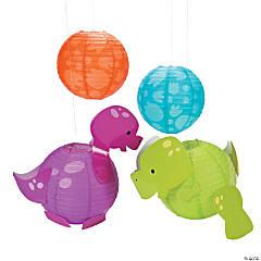 Little Dino Hanging Paper Lanterns