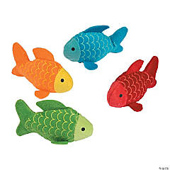 Little Fisherman Stuffed Fish