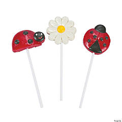 Little Ladybug Character Lollipops