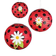 Little Ladybug Hanging Paper Lanterns
