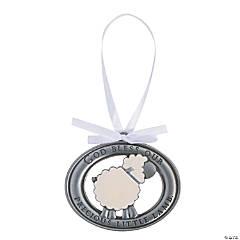 Little Lamb Crib Medal