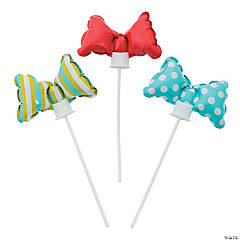 Little Man Bow Tie Self-Inflate Balloons