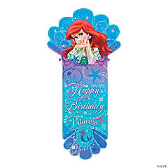 Little Mermaid Sparkle Birthday Banner