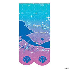 Little Mermaid Sparkle Table Cover