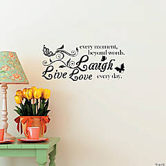 Live, Laugh, Love Wall Decals