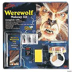 Living Nightmare Werewolf Makeup Kit