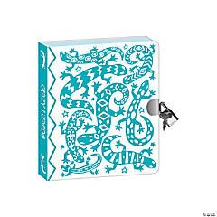 Lizard Foil Coloring Diary