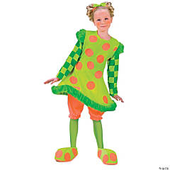 Lolli The Clown Girl's Costume