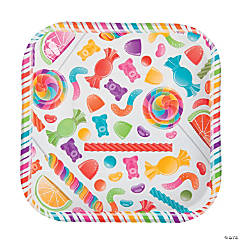Lollipop Lane Dessert Plates