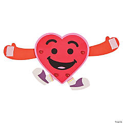 Long Arm Hugging Heart Craft Kit