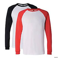 Long Sleeve Baseball T-Shirt by Bella + Canvas