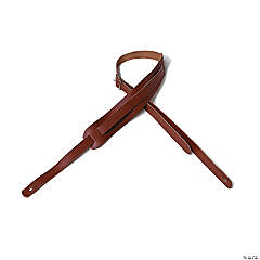 Loog Guitar Leather Strap: Brown