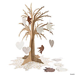 Love Birds Wishing Tree Centerpiece