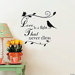 Love is a Light Wall Decal