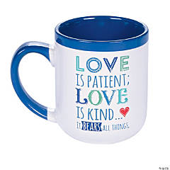 Love is Patient Ceramic Mug