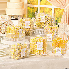 Love is Sweet Candy Buffet Idea