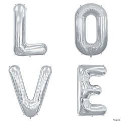 Love Mylar Letter Balloons