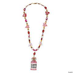 Love Potion Bottle Necklace Idea