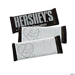 """Love"" Wedding Hershey's® Bar Labels"