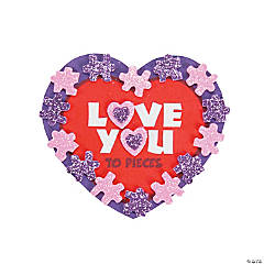 Love You to Pieces Magnet Craft Kit