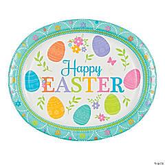 Lovely Easter Oval Platters