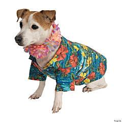 Luau Dog Costume - Medium