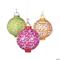 Luau Light-Up Paper Lanterns