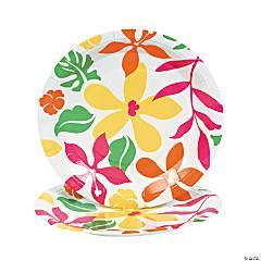 Luau Paper Dinner Plates
