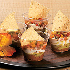 Luau Snack Cups Idea