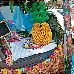 Luau Trunk Or Treat Car Decorations Idea