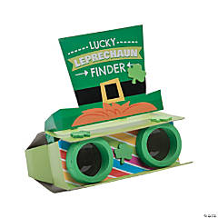 Lucky Leprechaun Binoculars Craft Kit