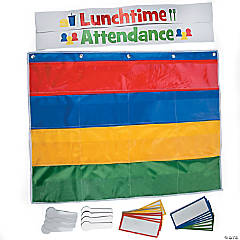 Lunch & Attendance Pocket Chart