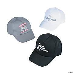 Lung Cancer Awareness Baseball Caps