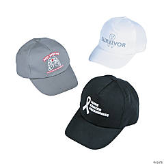 Lung Cancer Awareness Baseball Hat Assortment