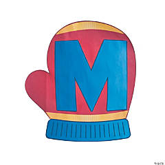 M is for Mitten Alphabet Craft Kit