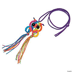 Macramé Owl Necklace Kit