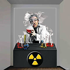 Mad Scientist Wall Decoration